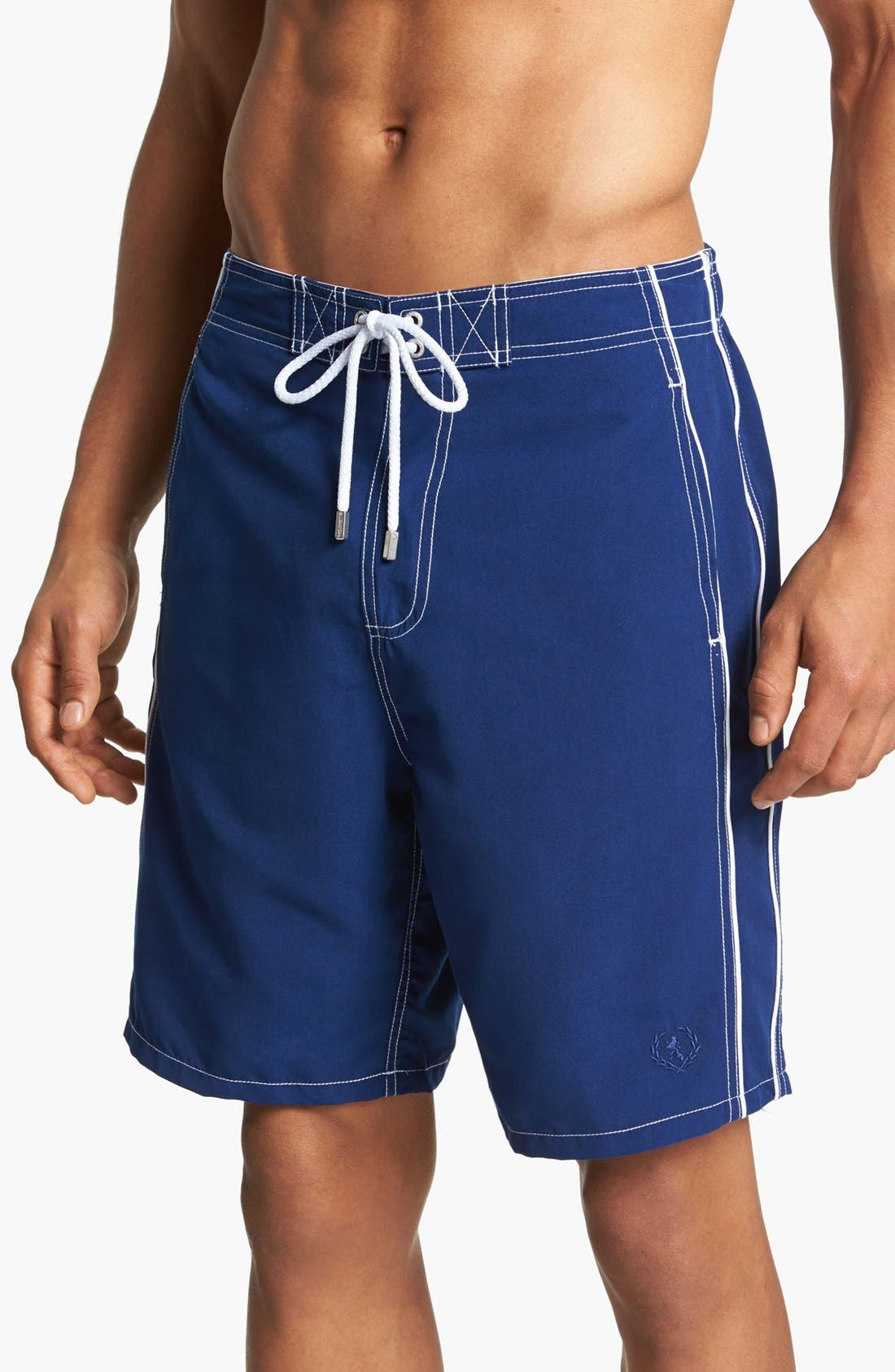 Alternate Image 1 Selected - Bugatchi Swim Trunks