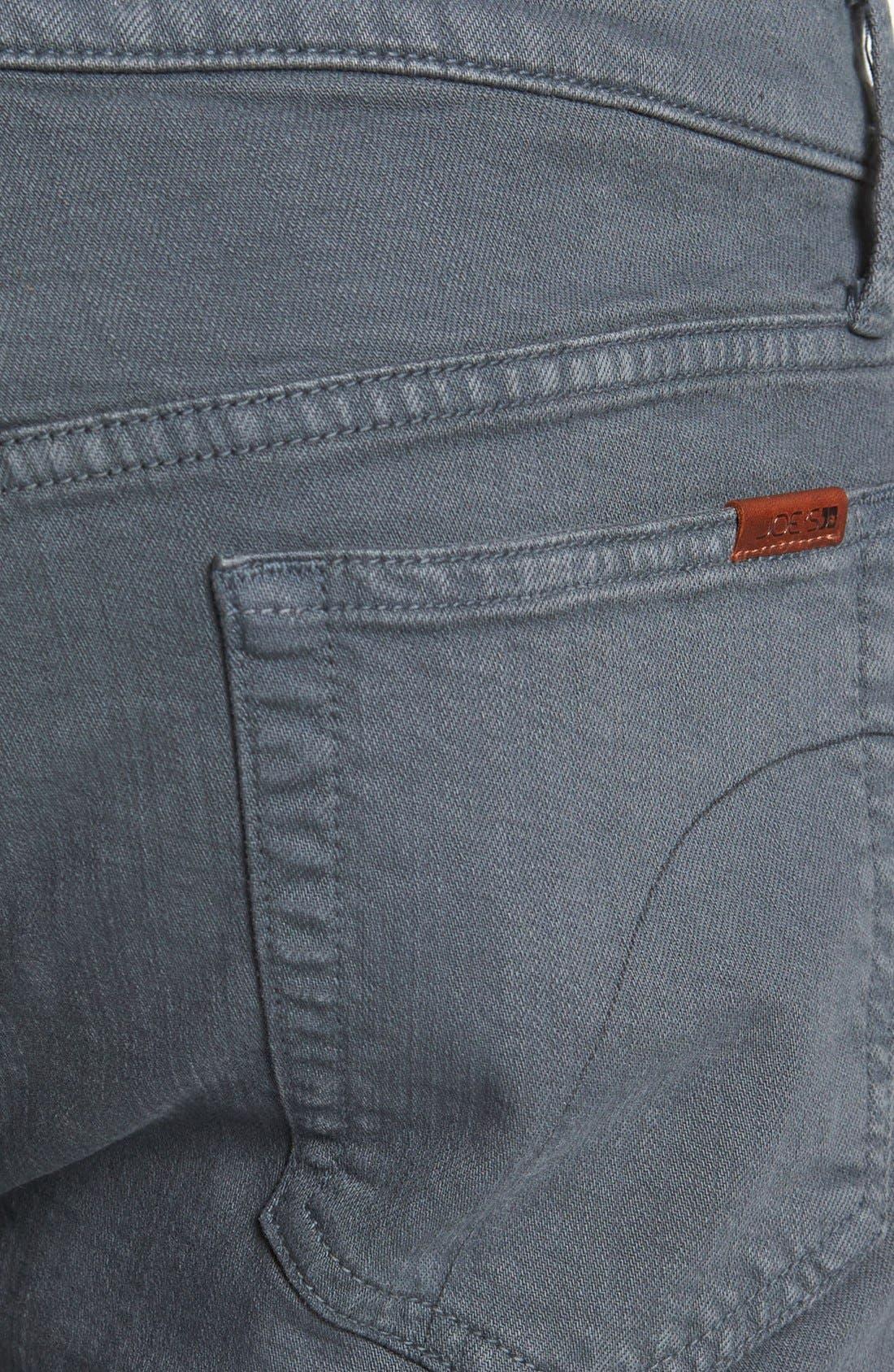 Alternate Image 4  - Joe's 'Classic' Straight Leg Jeans (Asphalt)