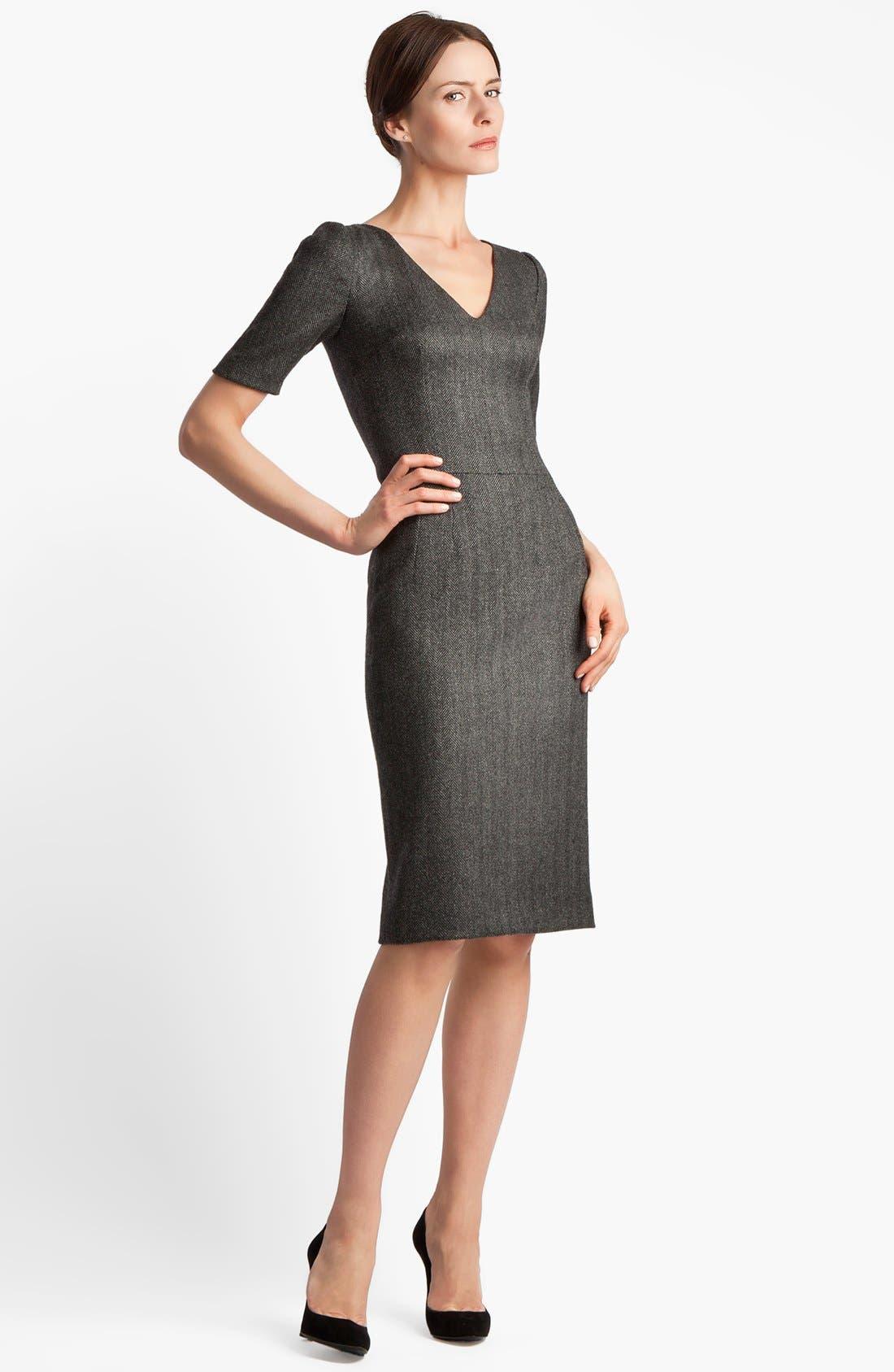 Alternate Image 3  - Dolce&Gabbana Stretch Herringbone Dress
