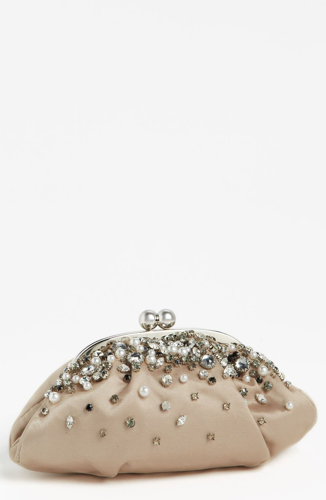 Alternate Image 1 Selected - Menbur 'Vintage Bride' Clutch