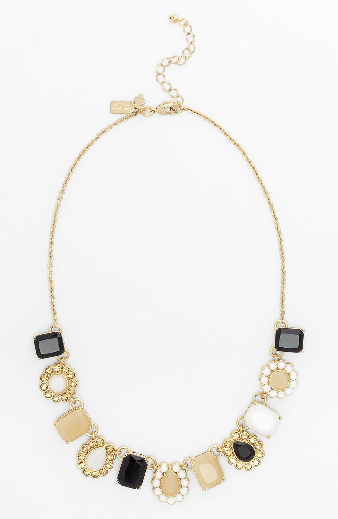 Alternate Image 2  - kate spade new york 'run around' framed stone collar necklace