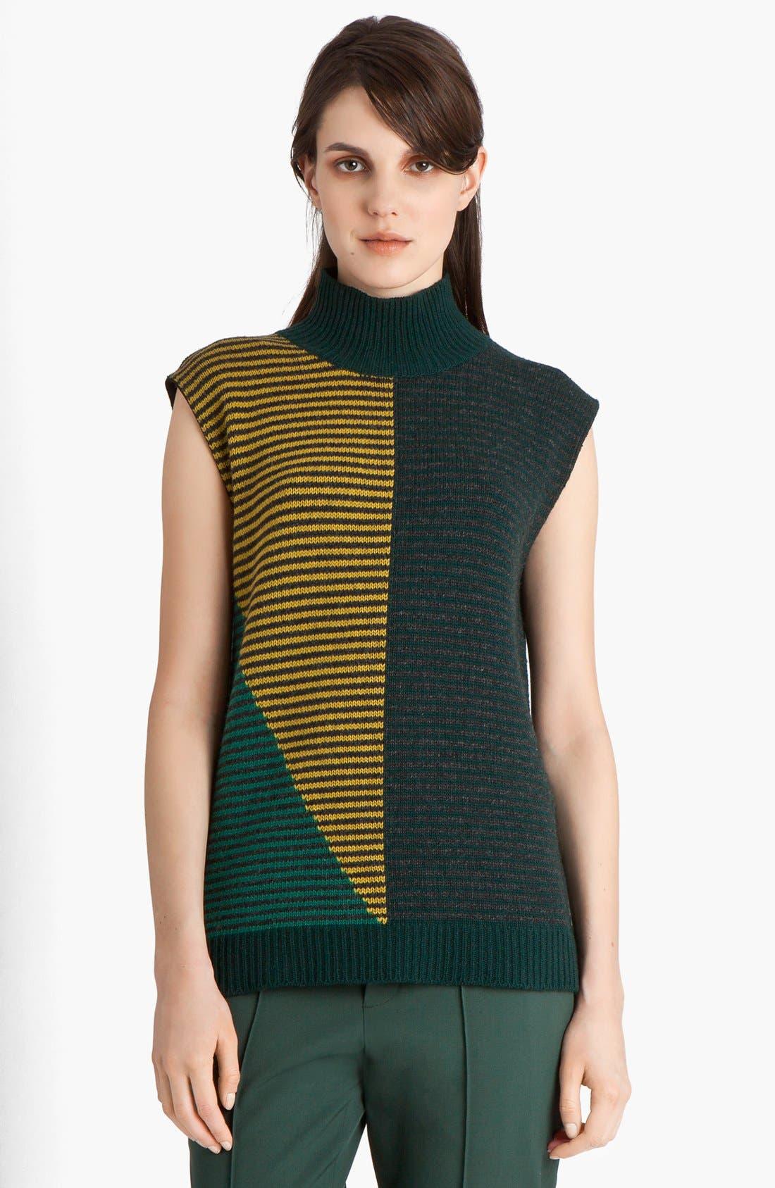 Main Image - Marni Multistripe Wool & Cashmere Sweater