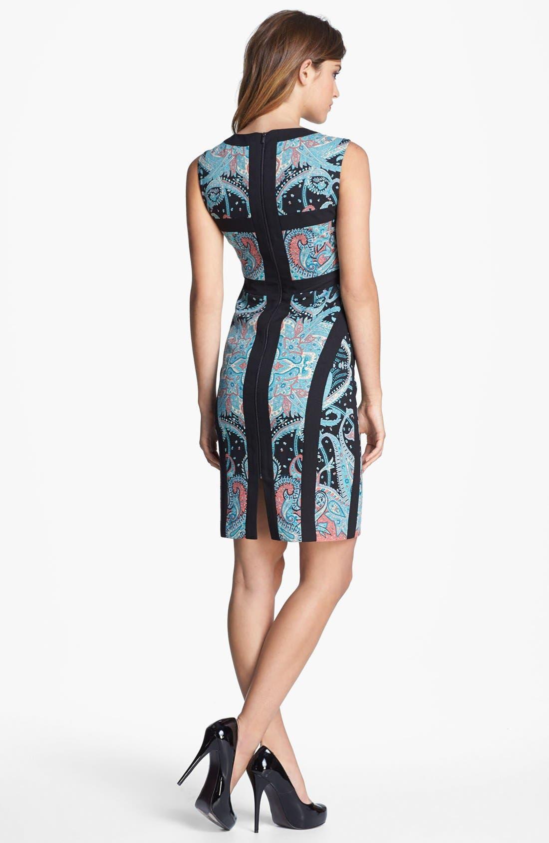 Alternate Image 2  - BCBGMAXAZARIA Sleeveless Sheath Dress
