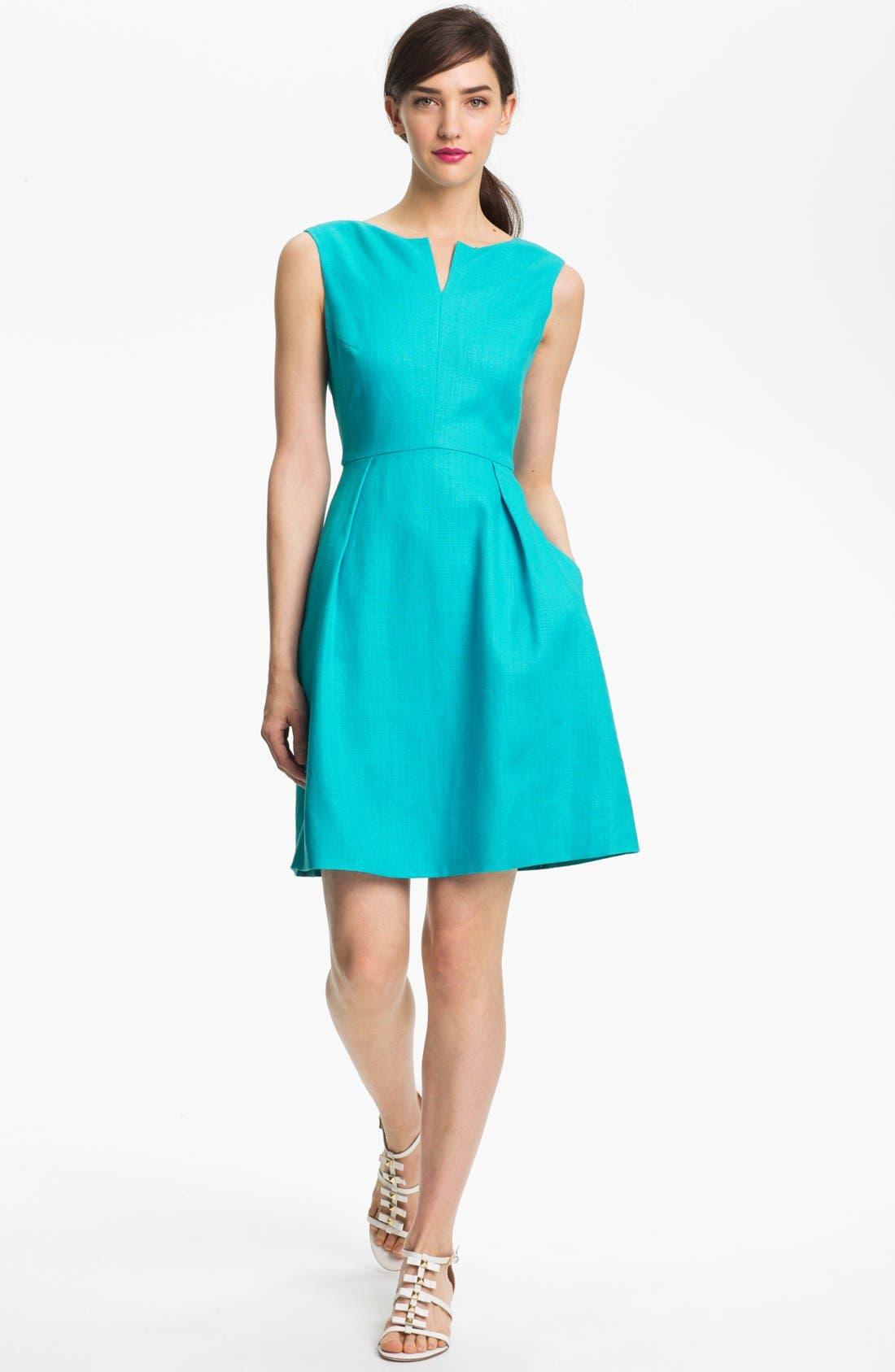 Alternate Image 1 Selected - kate spade new york 'cleo' a-line dress