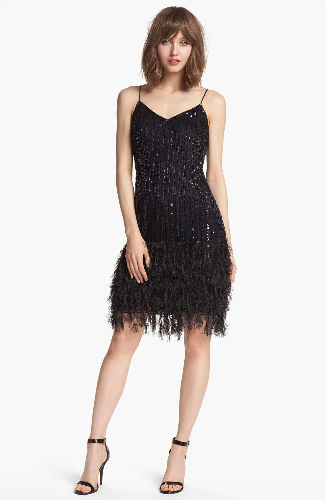 Alternate Image 3  - Pisarro Nights Embellished V-Neck Dress