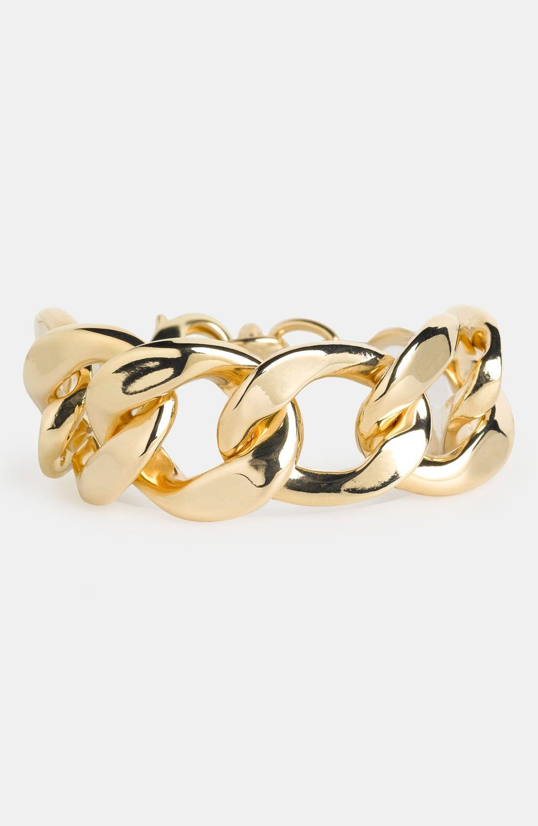Main Image - Natasha Couture 'Large' Chain Link Bracelet