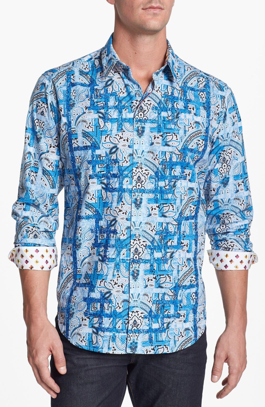 Alternate Image 1 Selected - Robert Graham 'Scarp' Sport Shirt