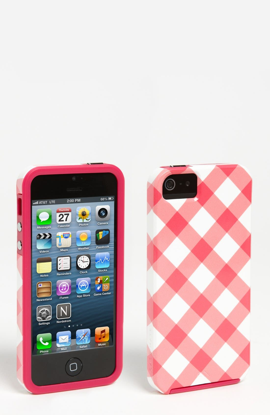 Alternate Image 1 Selected - Case-Mate® Gingham iPhone 5 Case (Nordstrom Exclusive)