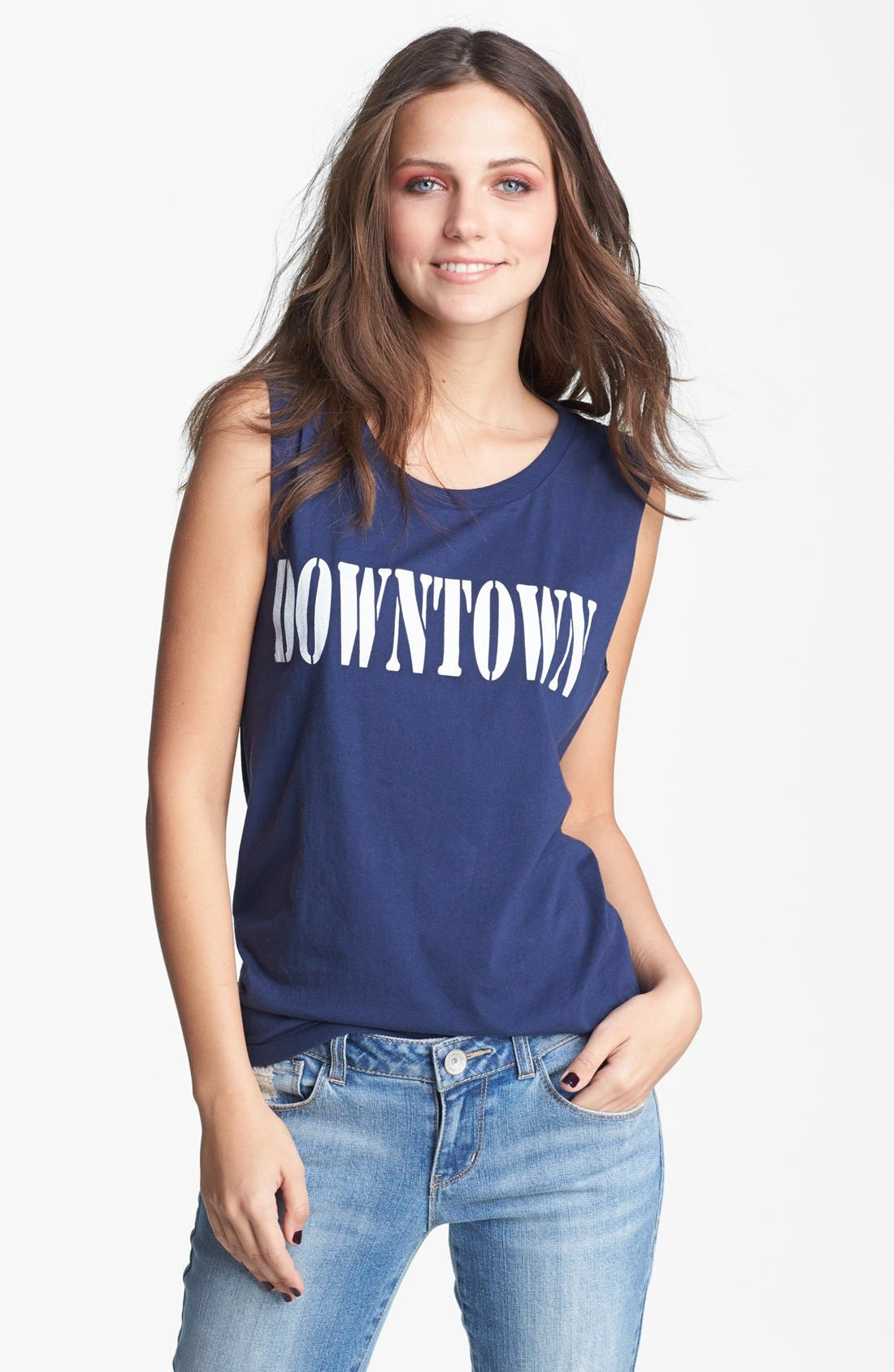 Alternate Image 1 Selected - Project Social T 'Downtown' Tank (Juniors)