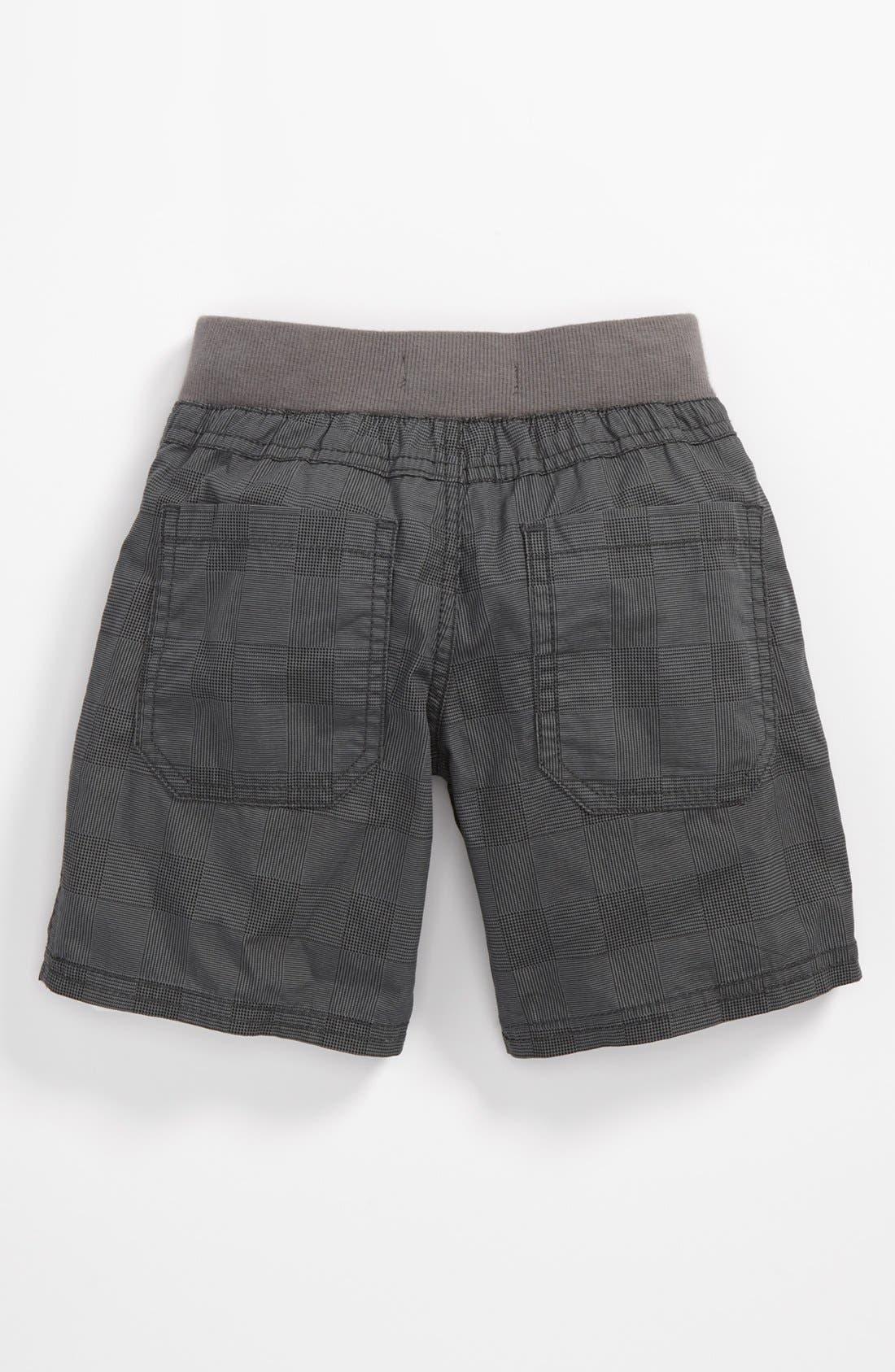 Alternate Image 2  - Pumpkin Patch Check Shorts (Toddler)