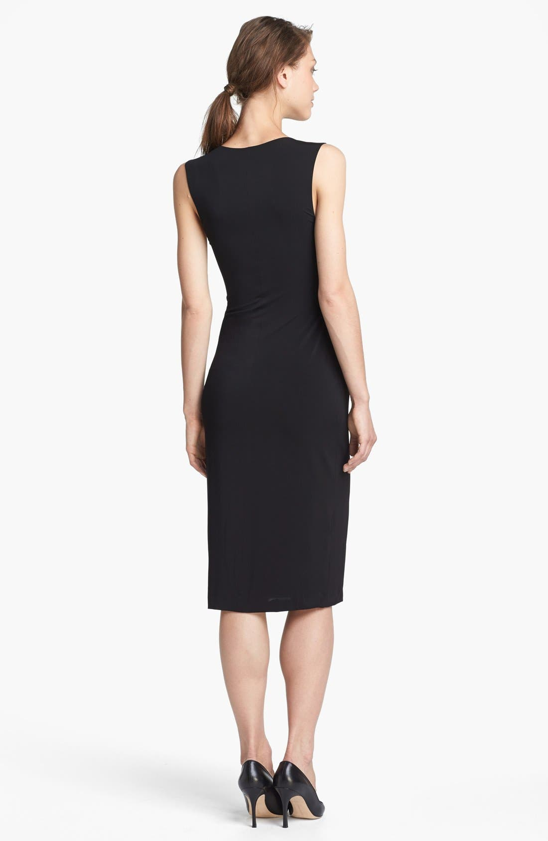 Alternate Image 2  - T by Alexander Wang Long Matte Jersey Tank Dress