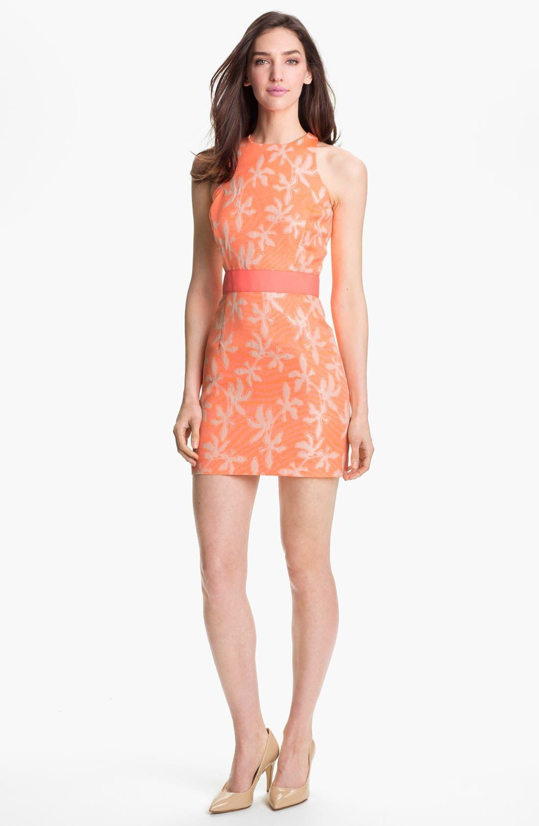 Main Image - Milly 'Sonya' Jacquard Sheath Dress