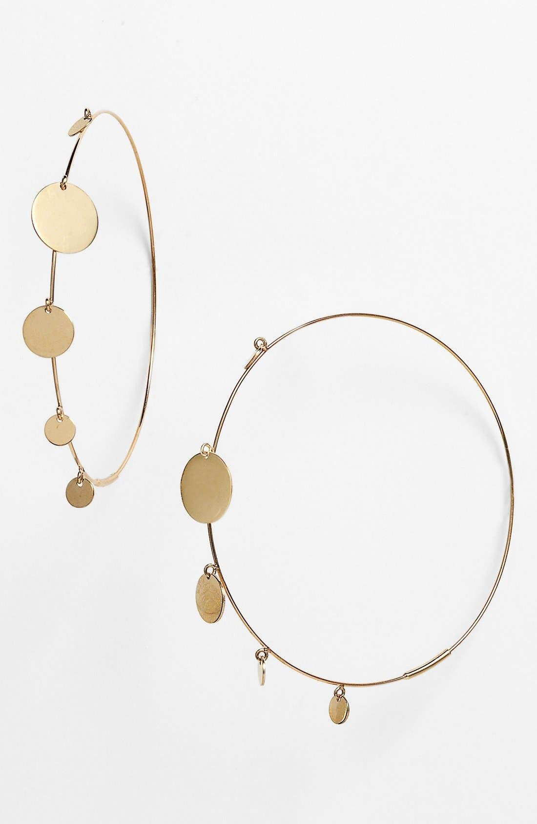 Alternate Image 1 Selected - Lana Jewelry 'Gypsy' Hoop Earrings