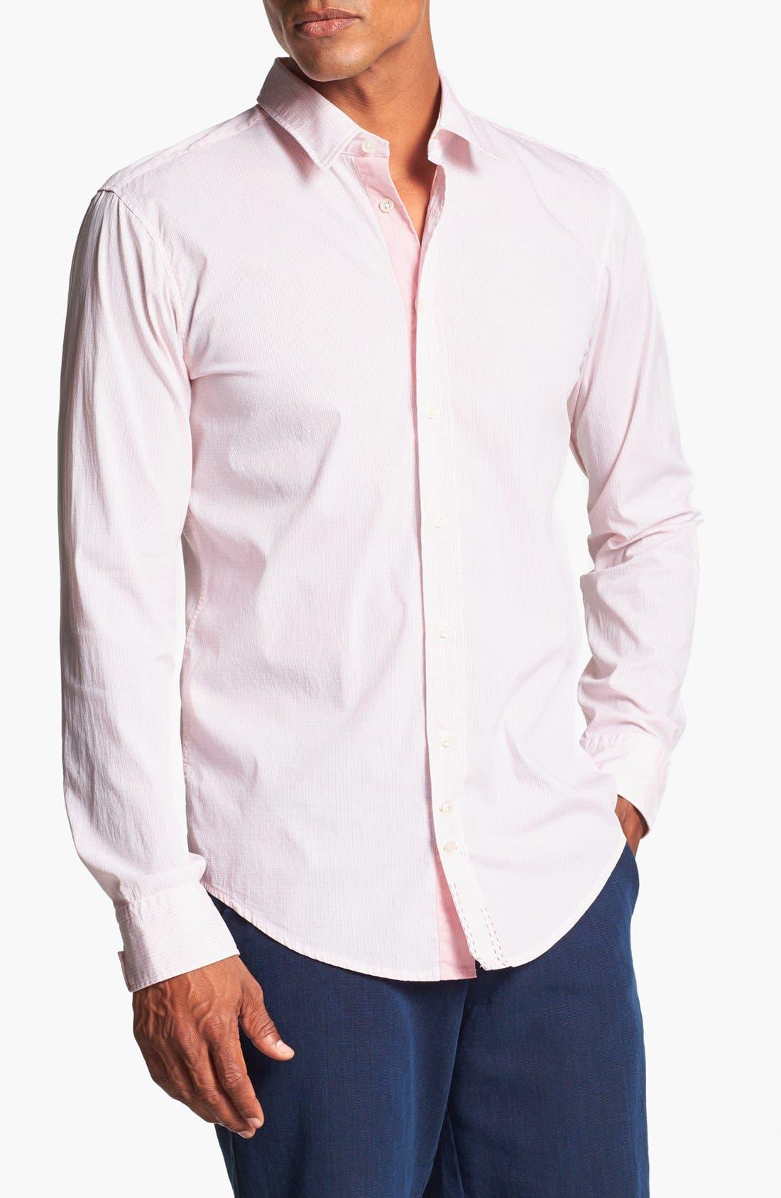 Alternate Image 1 Selected - BOSS Orange Slim Fit Sport Shirt