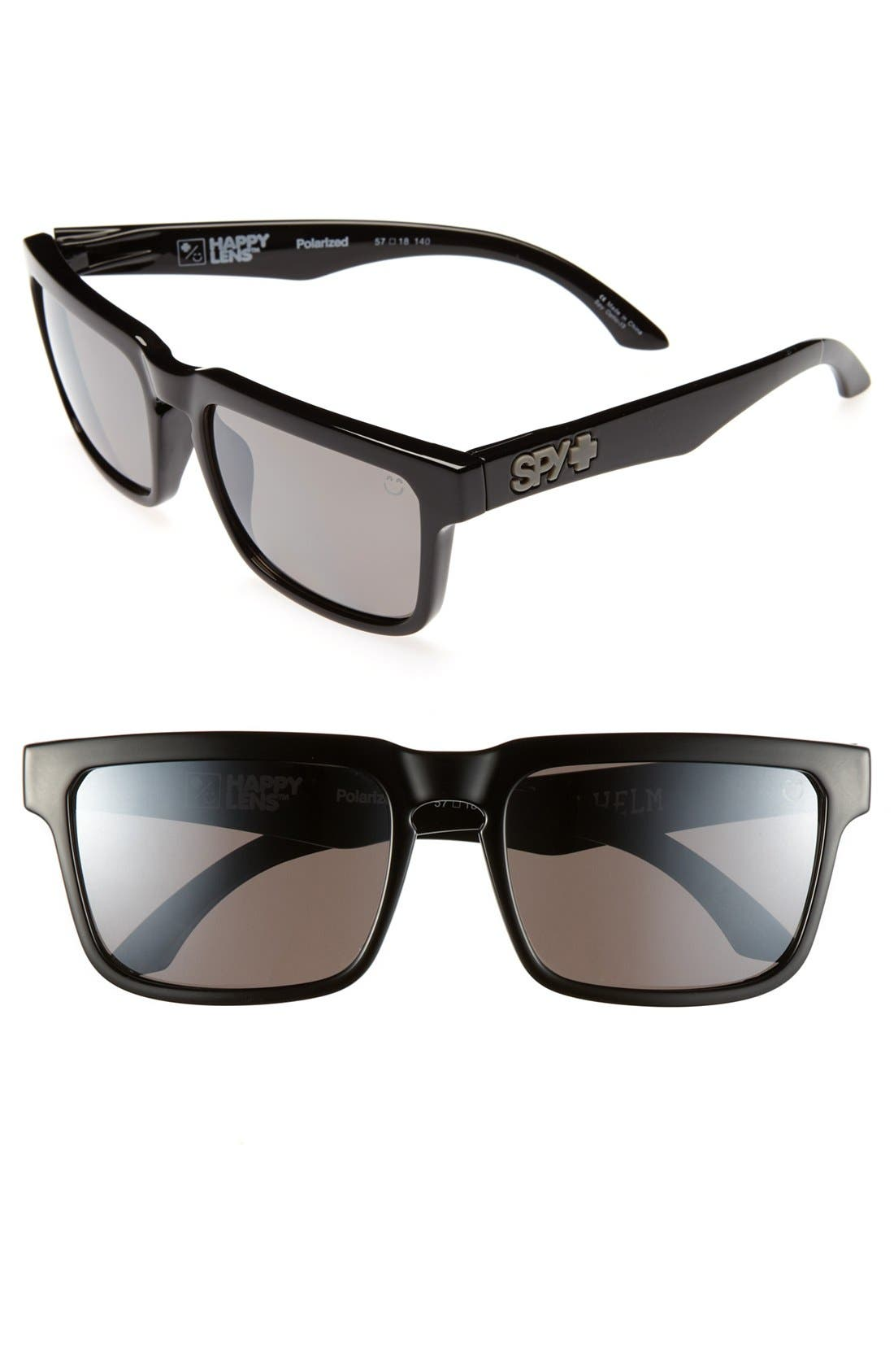 Main Image - SPY Optic 'Helm' 57mm Polarized Sunglasses