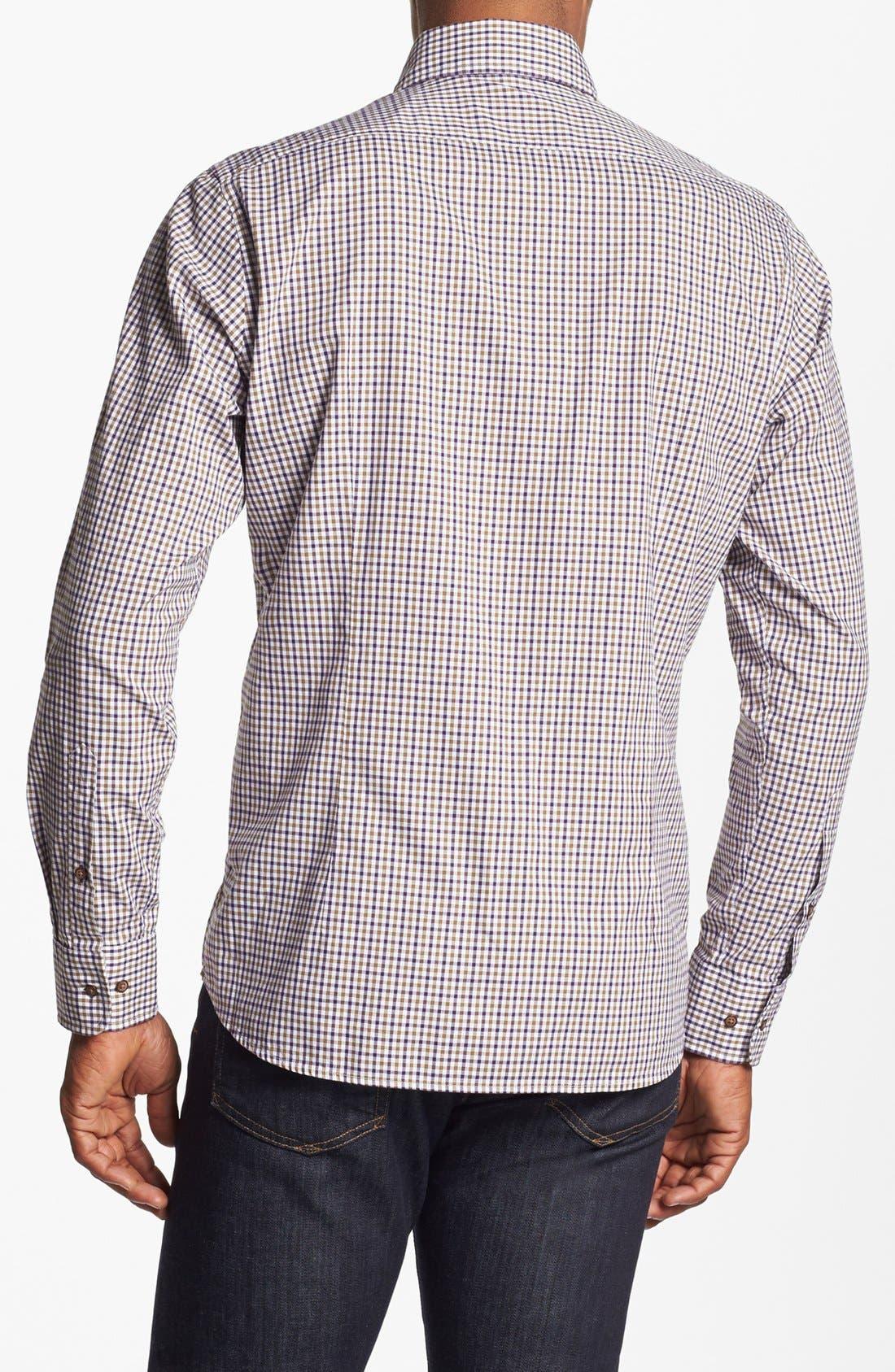 Alternate Image 2  - BOSS HUGO BOSS 'Sean' Regular Fit Sport Shirt