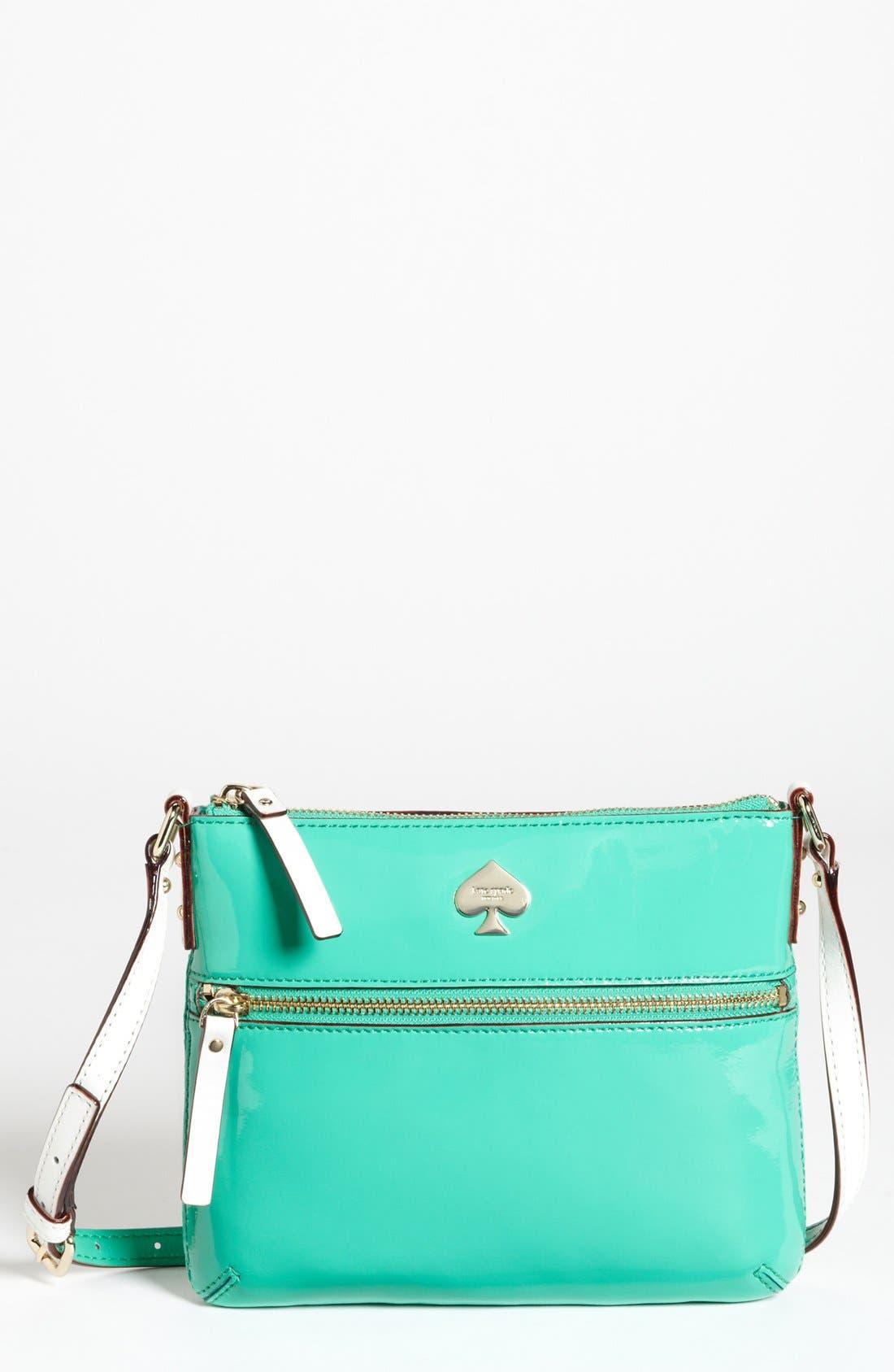 Main Image - kate spade new york 'flicker - tenley' patent crossbody bag