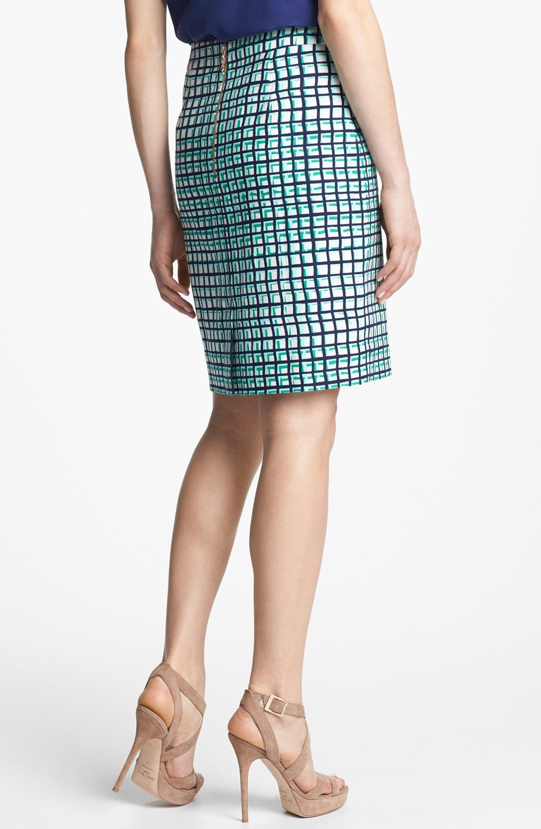 Alternate Image 2  - kate spade new york 'judy' check pencil skirt