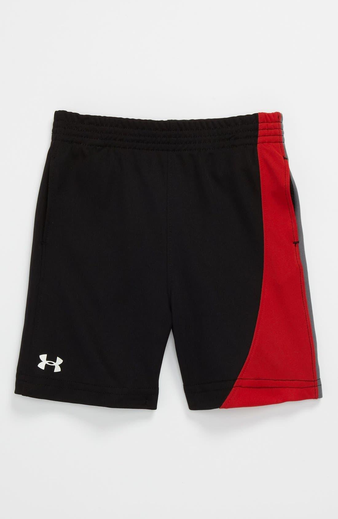 Main Image - Under Armour 'Flip' Shorts (Toddler)