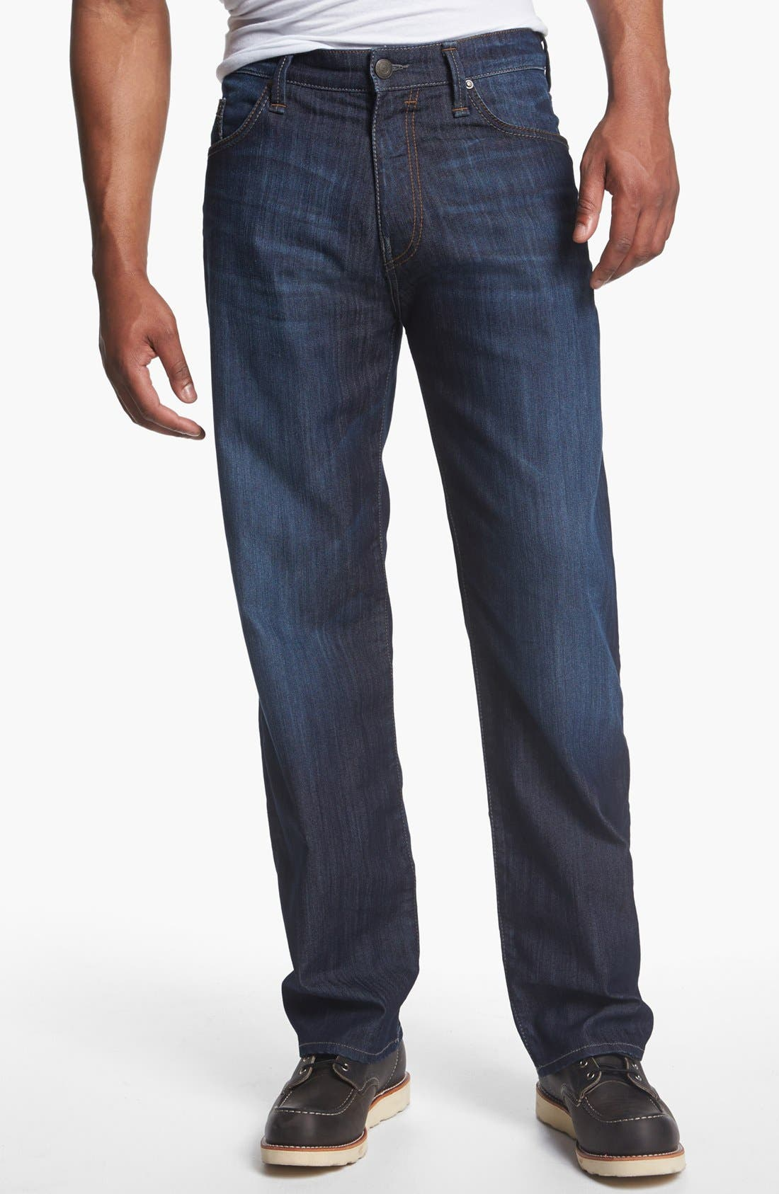 Alternate Image 2  - Mavi Jeans 'Max' Relaxed Jeans (Rinse Arizona Comfort) (Online Only)