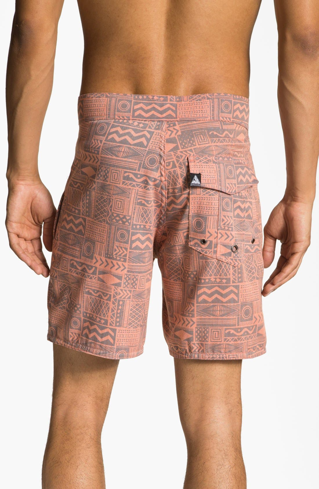 Alternate Image 2  - Vanguard 'Sonic Jungle' Board Shorts