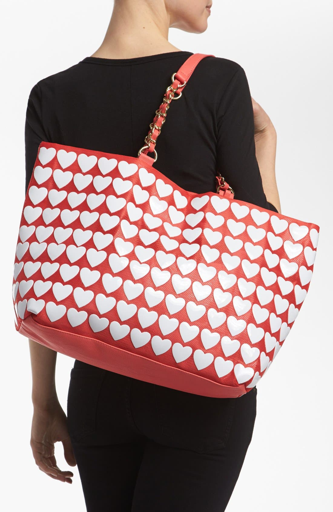 Alternate Image 2  - Betsey Johnson 'Hearts' Tote