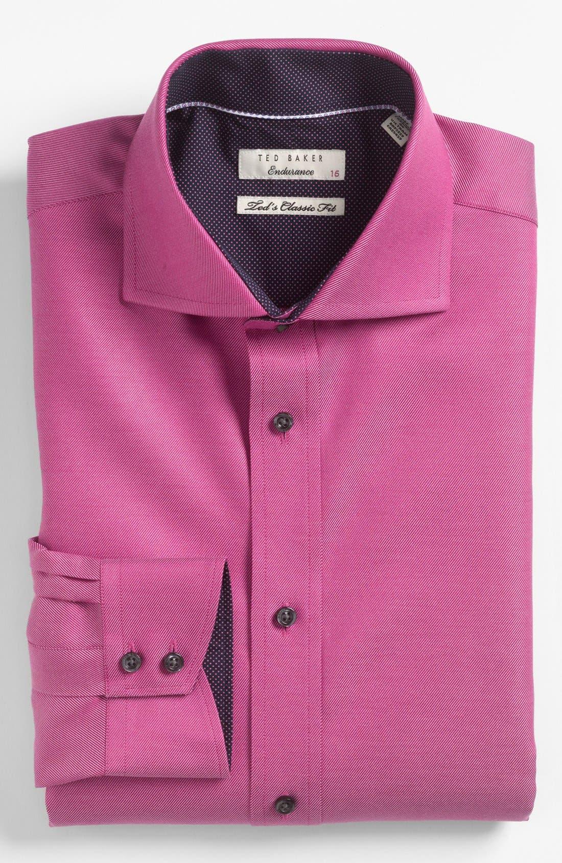 Main Image - Ted Baker London Classic Fit Dress Shirt