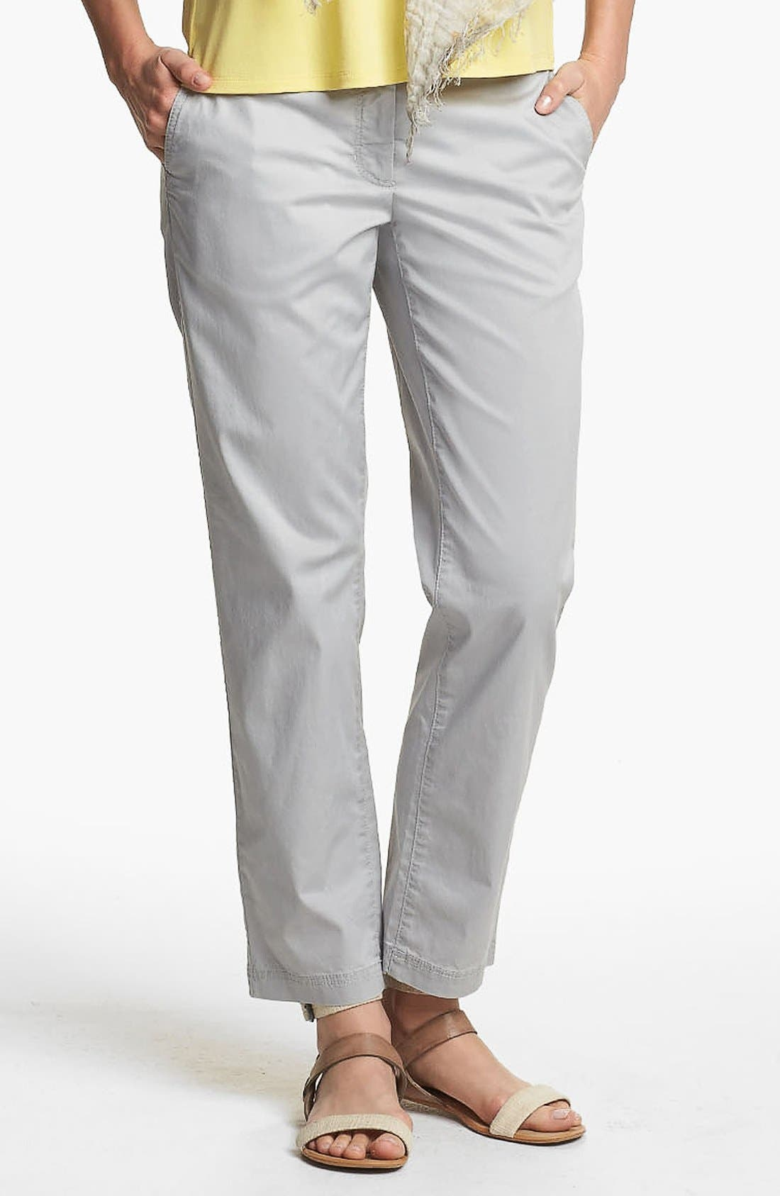 Alternate Image 1 Selected - Eileen Fisher Tapered Ankle Pants