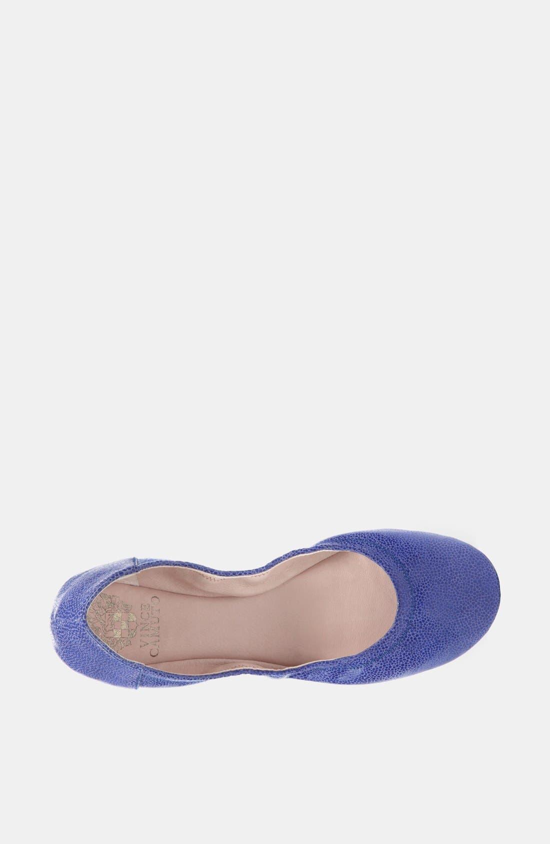 Alternate Image 3  - Vince Camuto 'Ellen' Flat