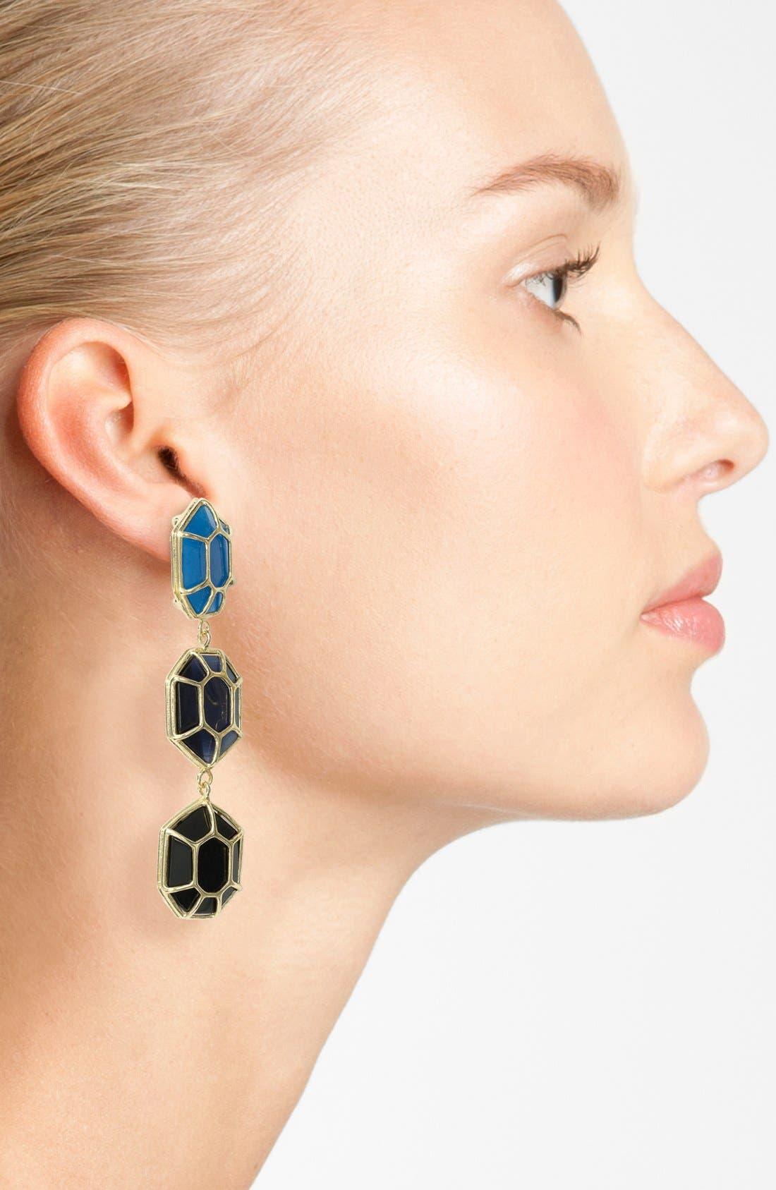 Alternate Image 2  - Kendra Scott 'Maxine' Linear Earrings
