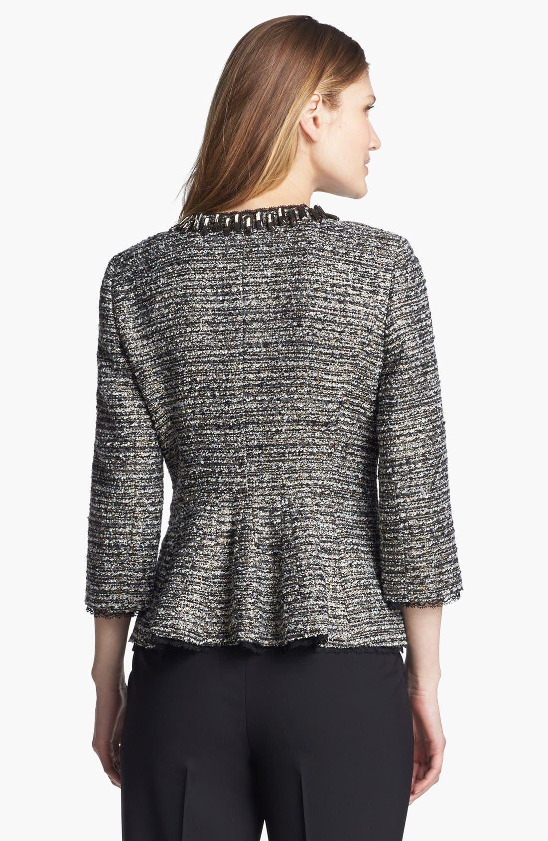 Alternate Image 2  - Classiques Entier® 'Lavish Bouclé' Embellished Jacket