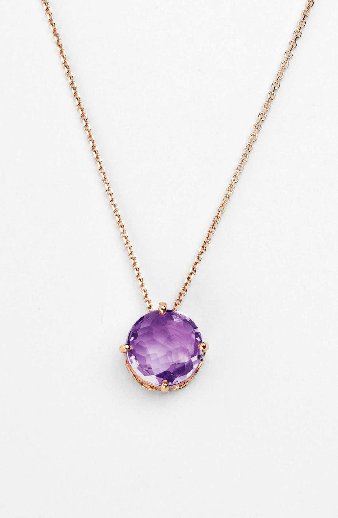 Alternate Image 1 Selected - KALAN by Suzanne Kalan Amethyst Pendant Necklace