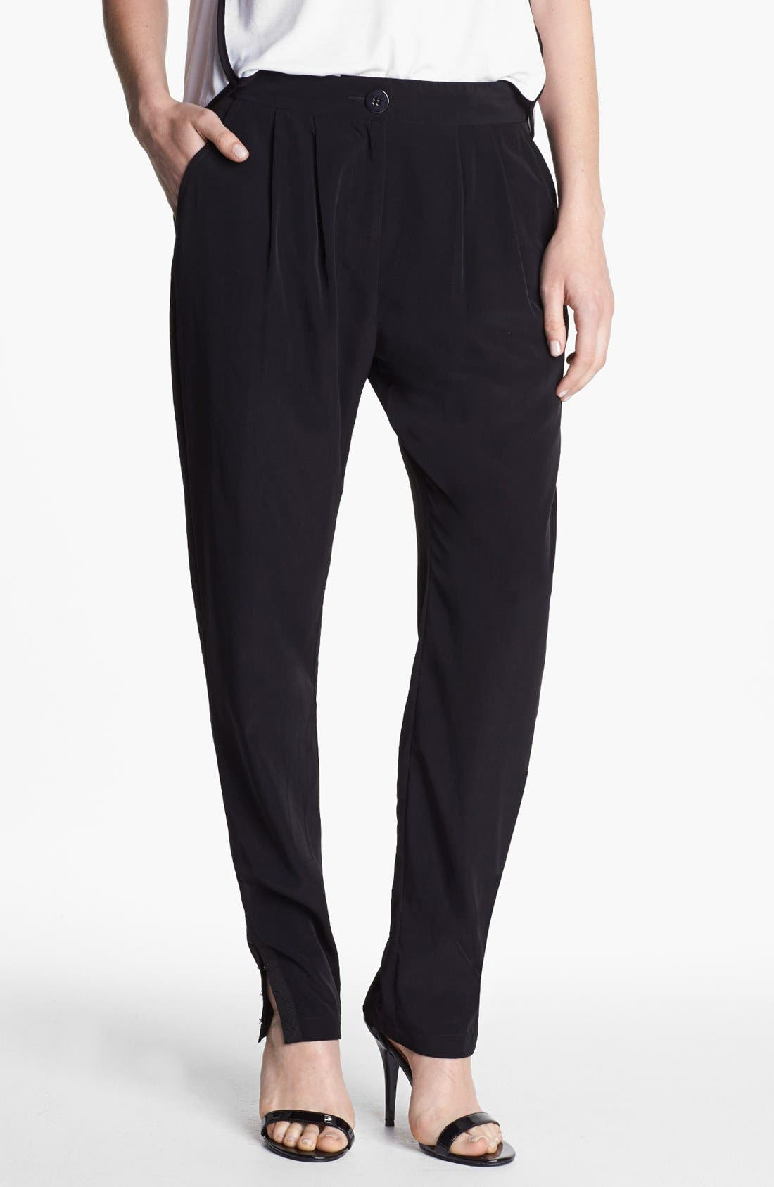 Alternate Image 1 Selected - Kenneth Cole New York 'Sharla' Pleat Pants