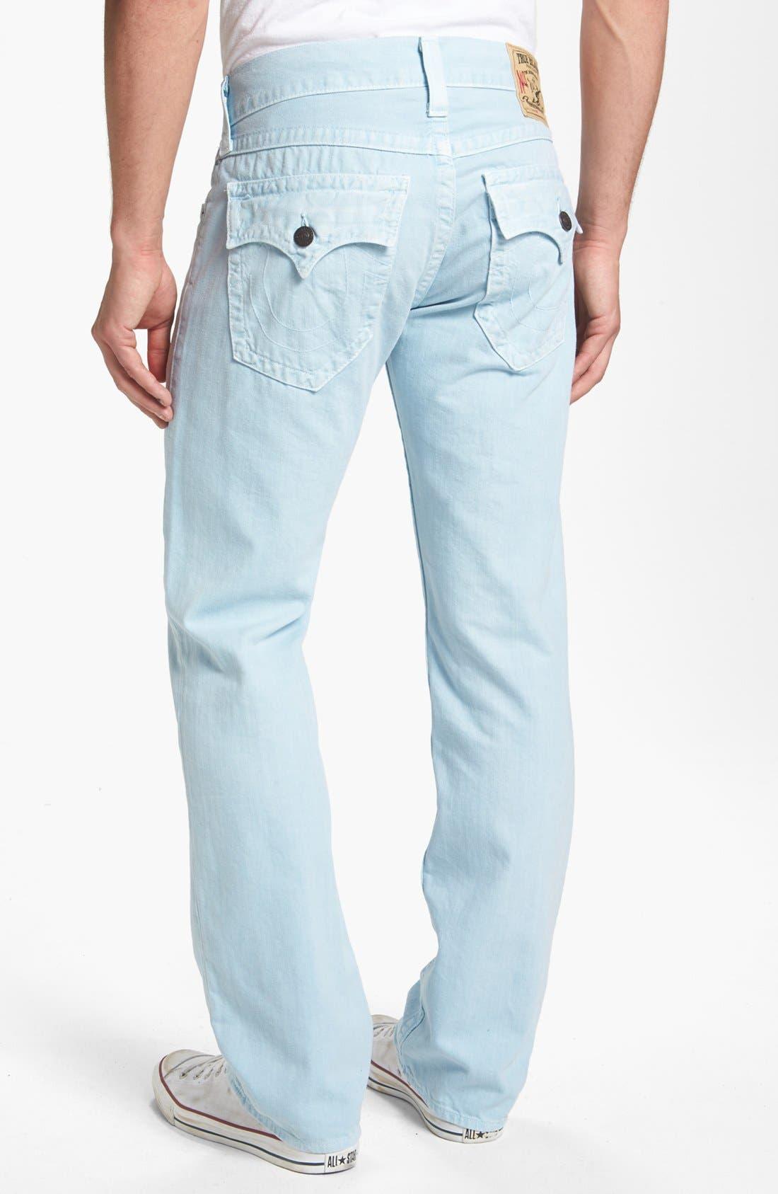 Alternate Image 1 Selected - True Religion Brand Jeans 'Ricky' Straight Leg Pants