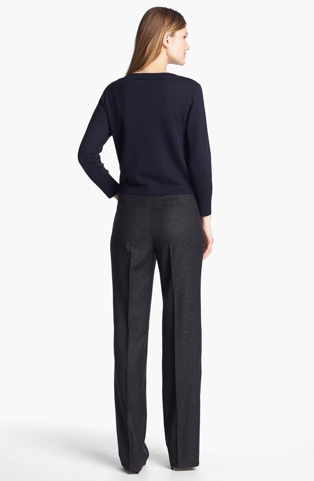 Alternate Image 5  - Santorelli 'Mara' Tweed Trousers