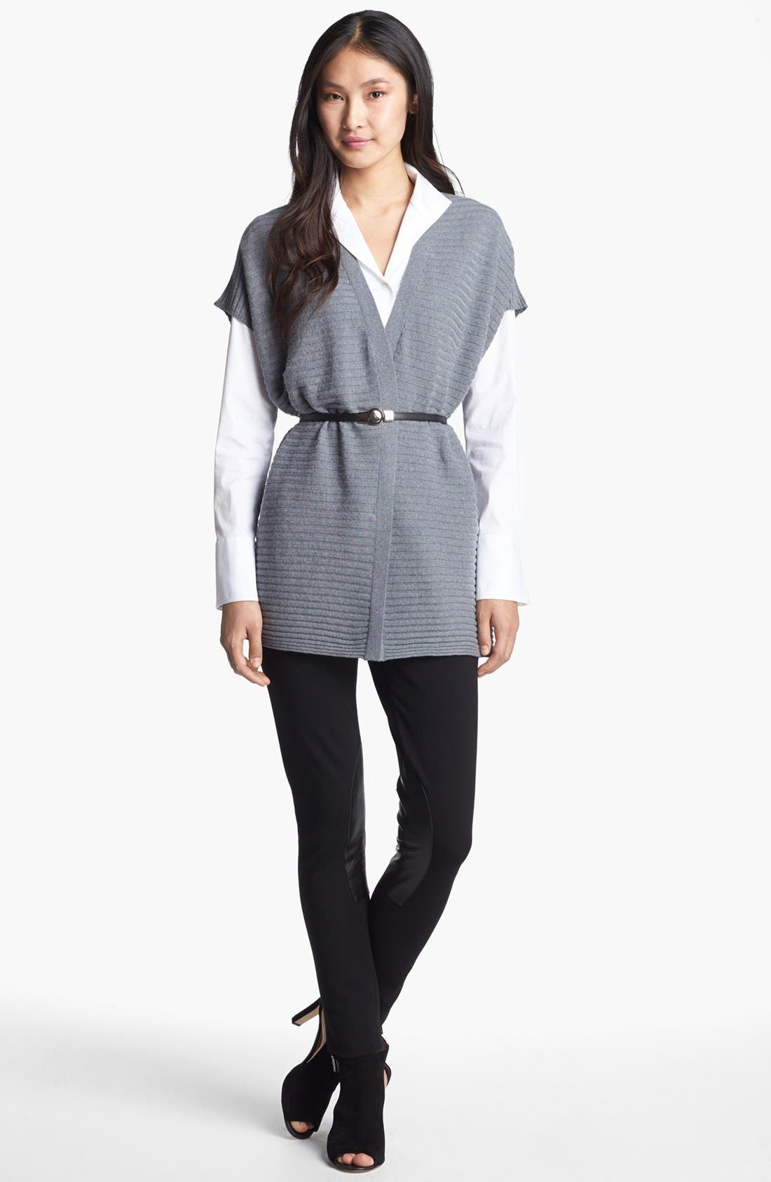 Alternate Image 5  - Lafayette 148 New York 'Excursion Stretch' Tunic