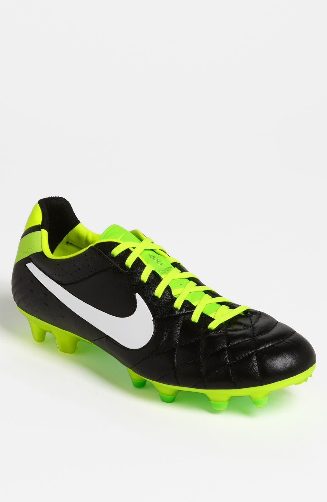 Main Image - Nike 'Tiempo Legend IV FG' Soccer Cleat (Men)
