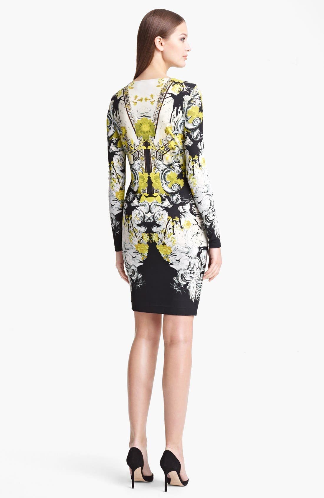 Alternate Image 2  - Roberto Cavalli 'Bestebea Print' Jersey Dress
