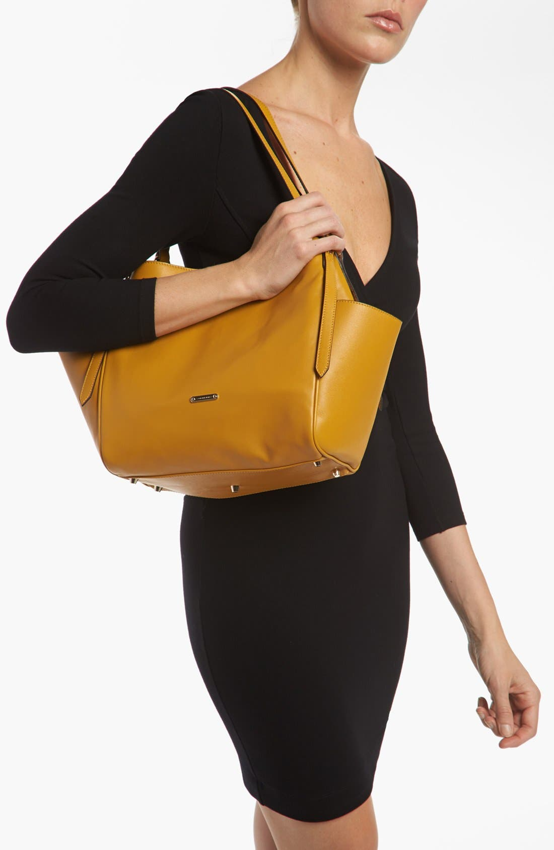Alternate Image 2  - Burberry 'Canterbury - Small' Leather Tote