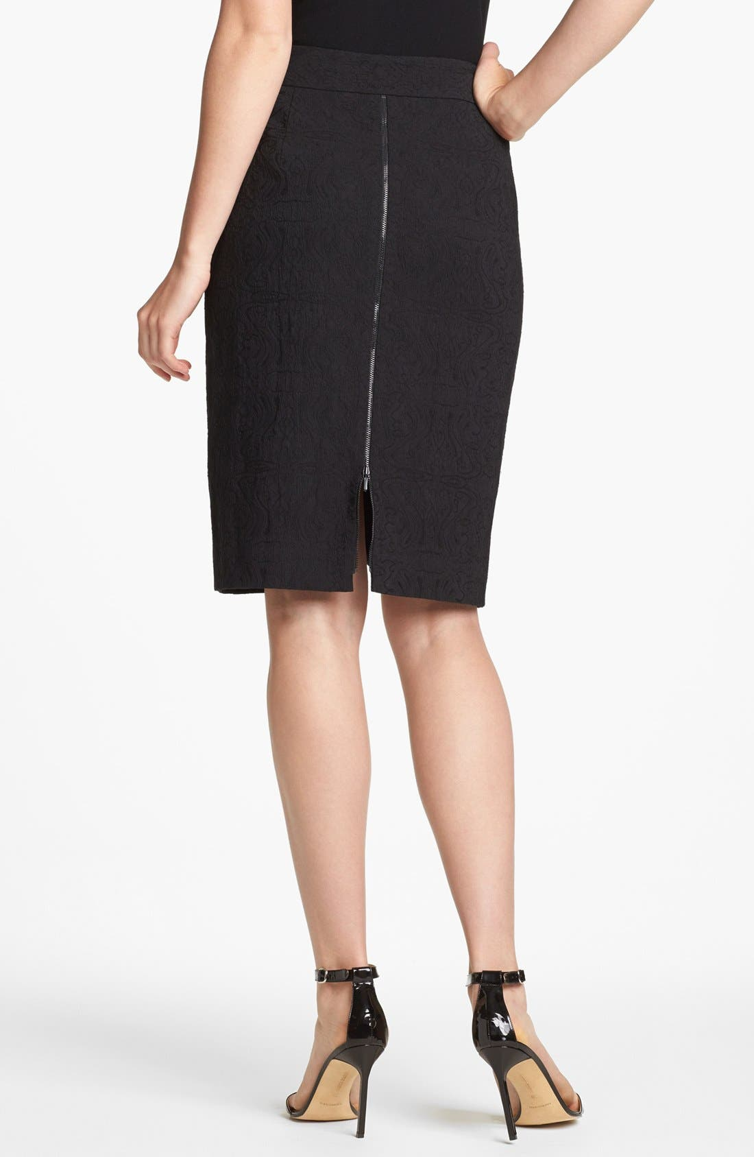 Alternate Image 2  - Classiques Entier® 'Bursa Jacquard' Skirt