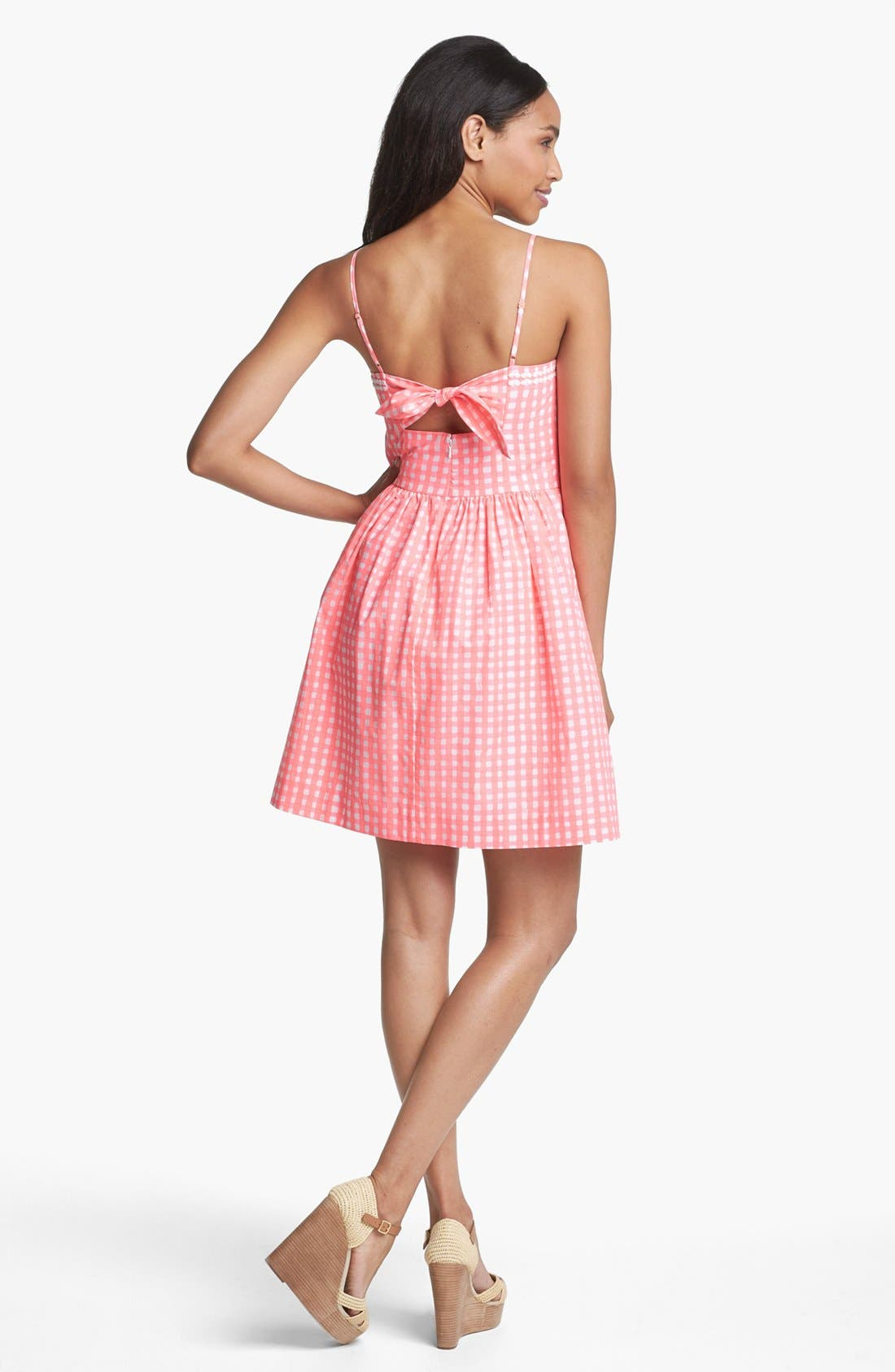Alternate Image 2  - Lilly Pulitzer® 'Bethany' Gingham Fit & Flare Dress