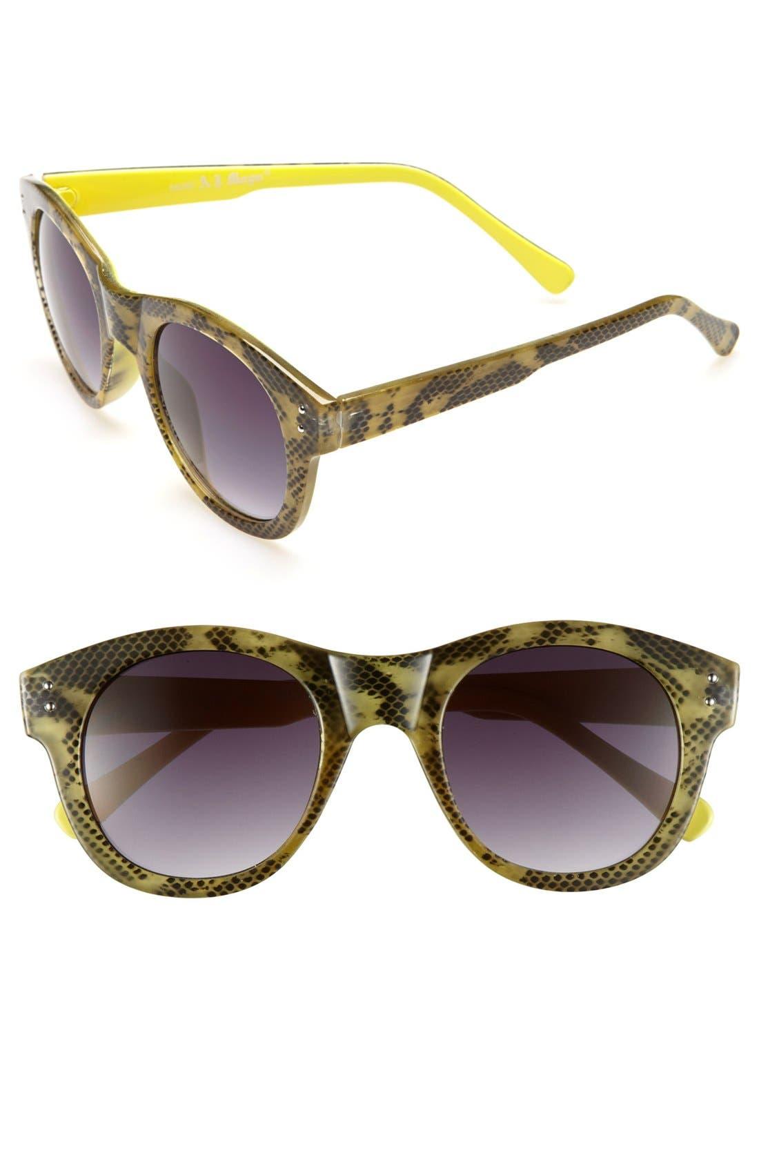 Alternate Image 1 Selected - A.J. Morgan 'Destiny' Sunglasses