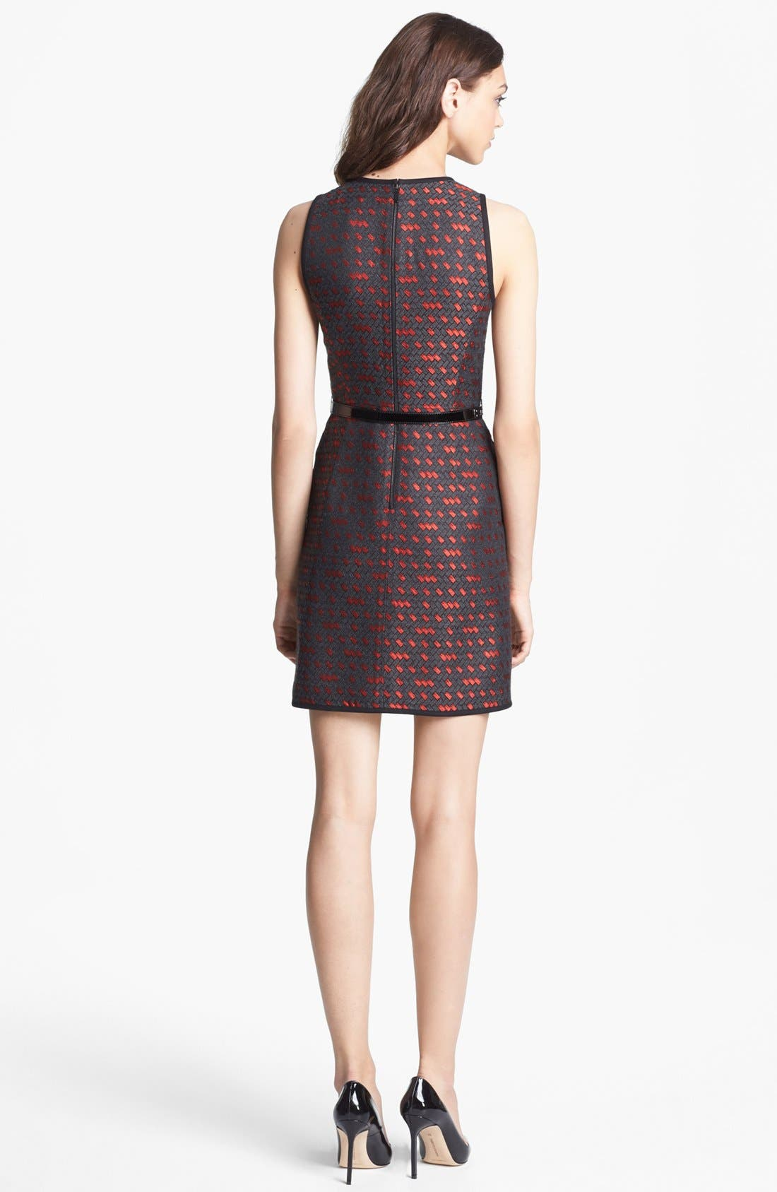 Alternate Image 2  - Miss Wu 'Gallone' Jacquard Dress (Nordstrom Exclusive)