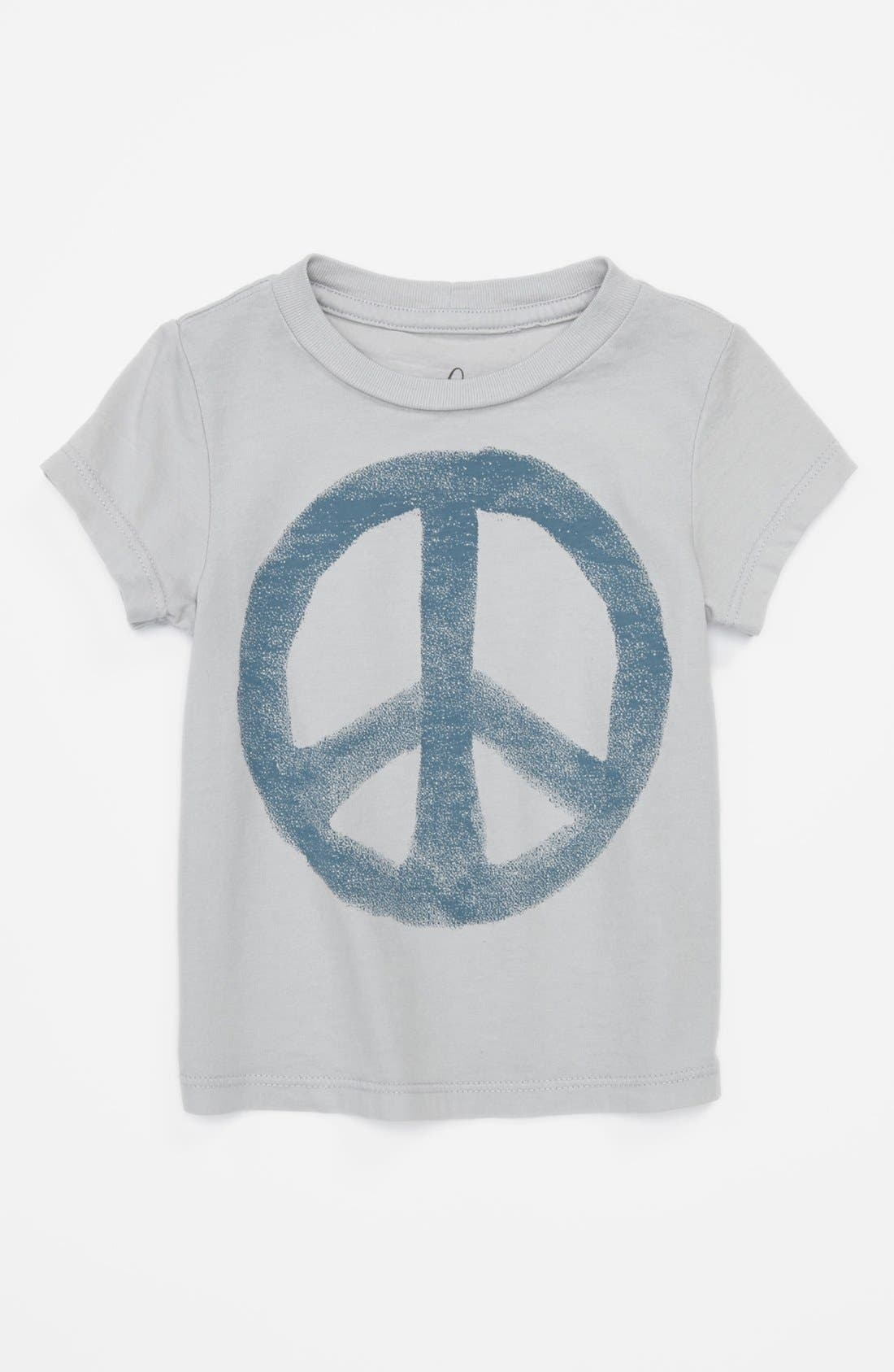 Alternate Image 1 Selected - Peek 'Peace - Little Peanut' T-Shirt (Baby Boys)