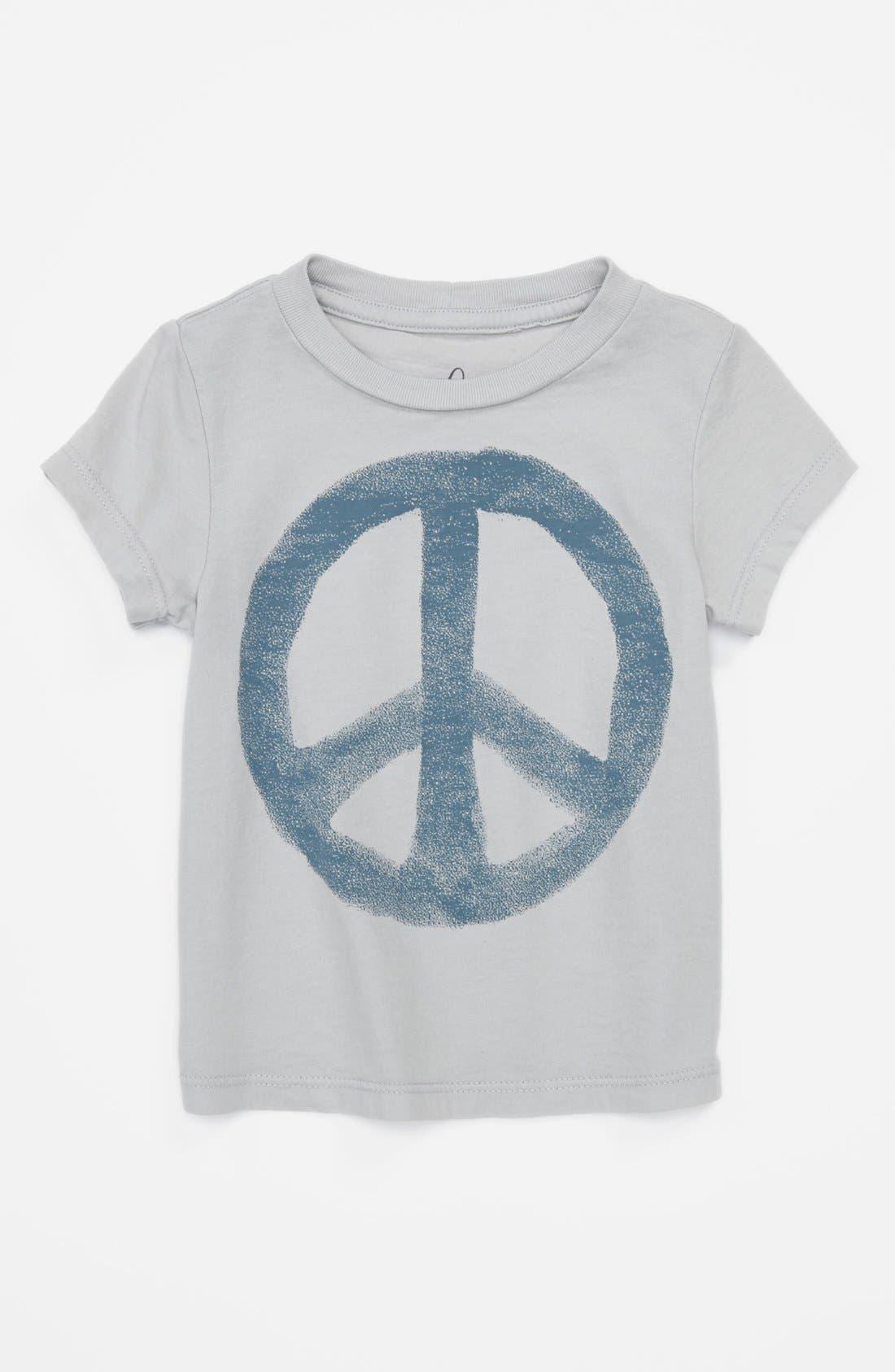 Main Image - Peek 'Peace - Little Peanut' T-Shirt (Baby Boys)