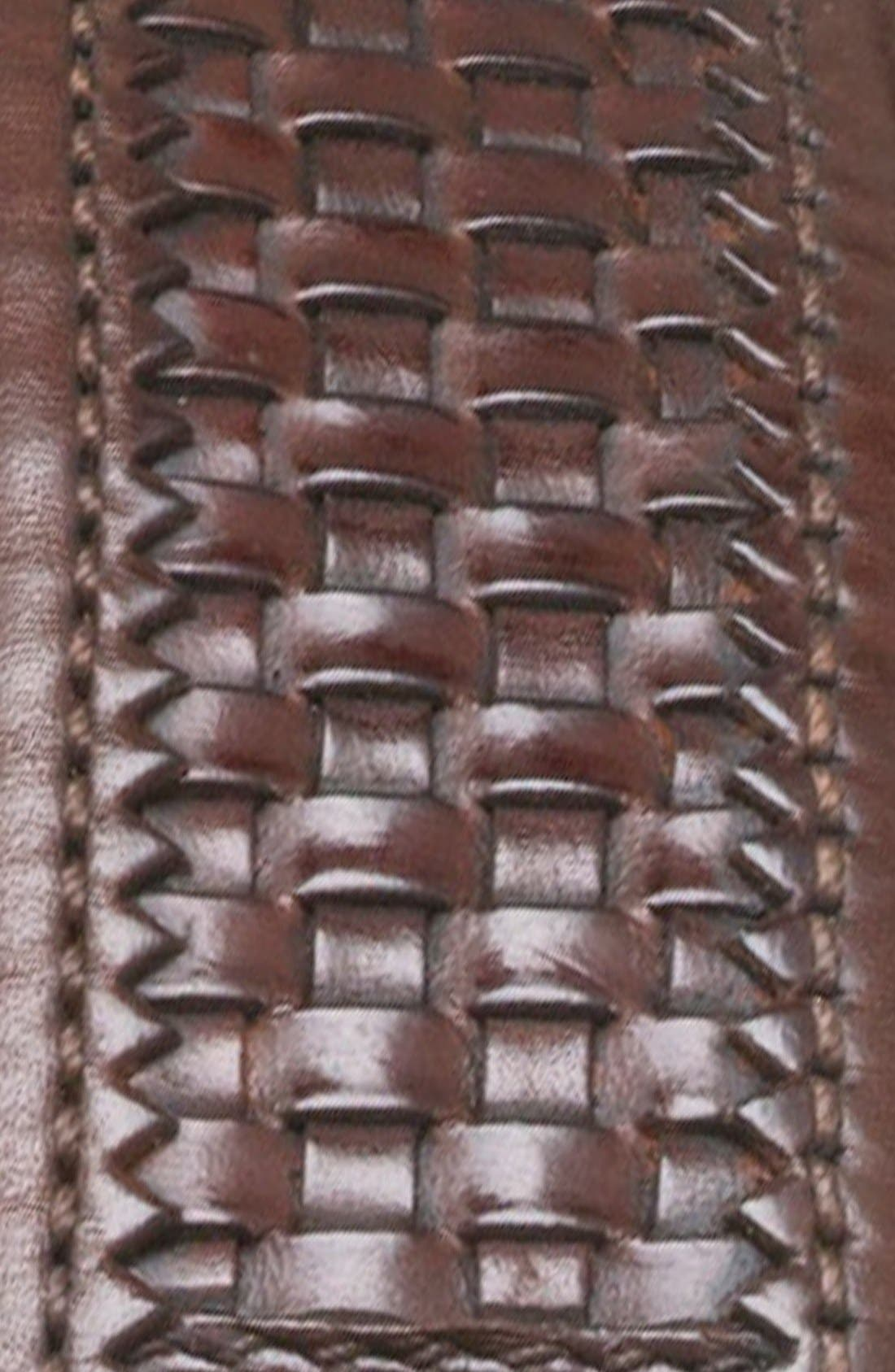Alternate Image 2  - Mezlan 'Parma Dama' Woven Leather Belt