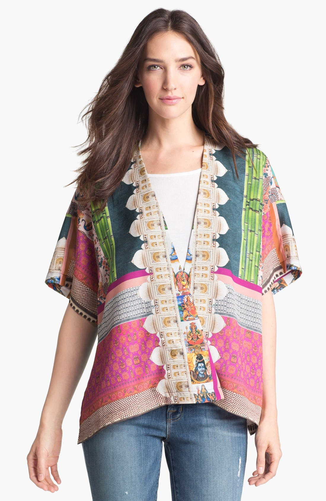 Alternate Image 1 Selected - Clover Canyon 'Taj Mahal Necklace' Jacket