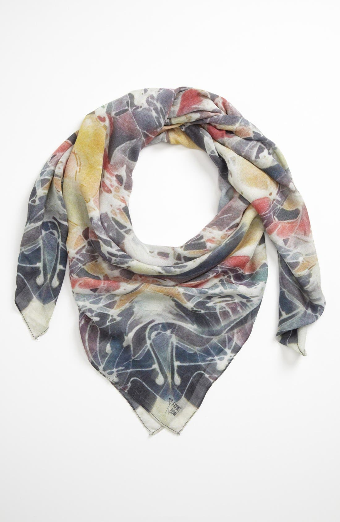 Main Image - Front Row Society 'Frosted Flower' Scarf