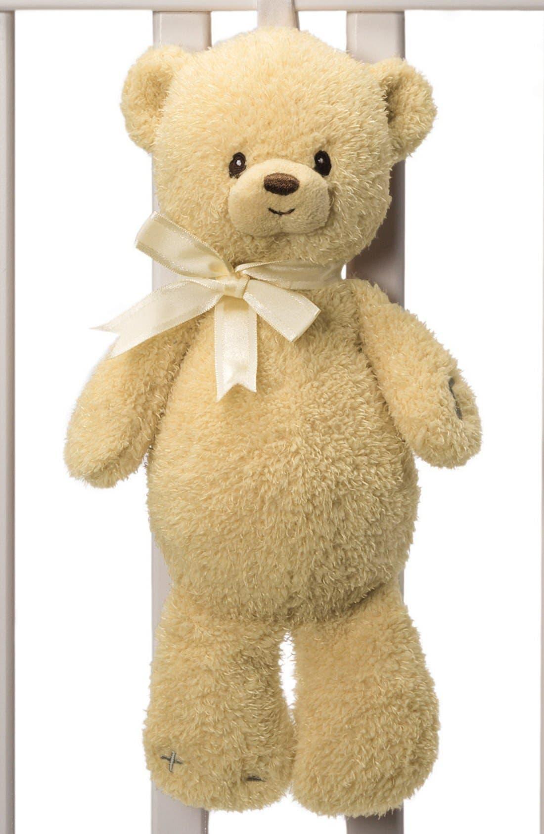 Alternate Image 1 Selected - Baby Gund 'Teddi' Soothing Sounds Bear