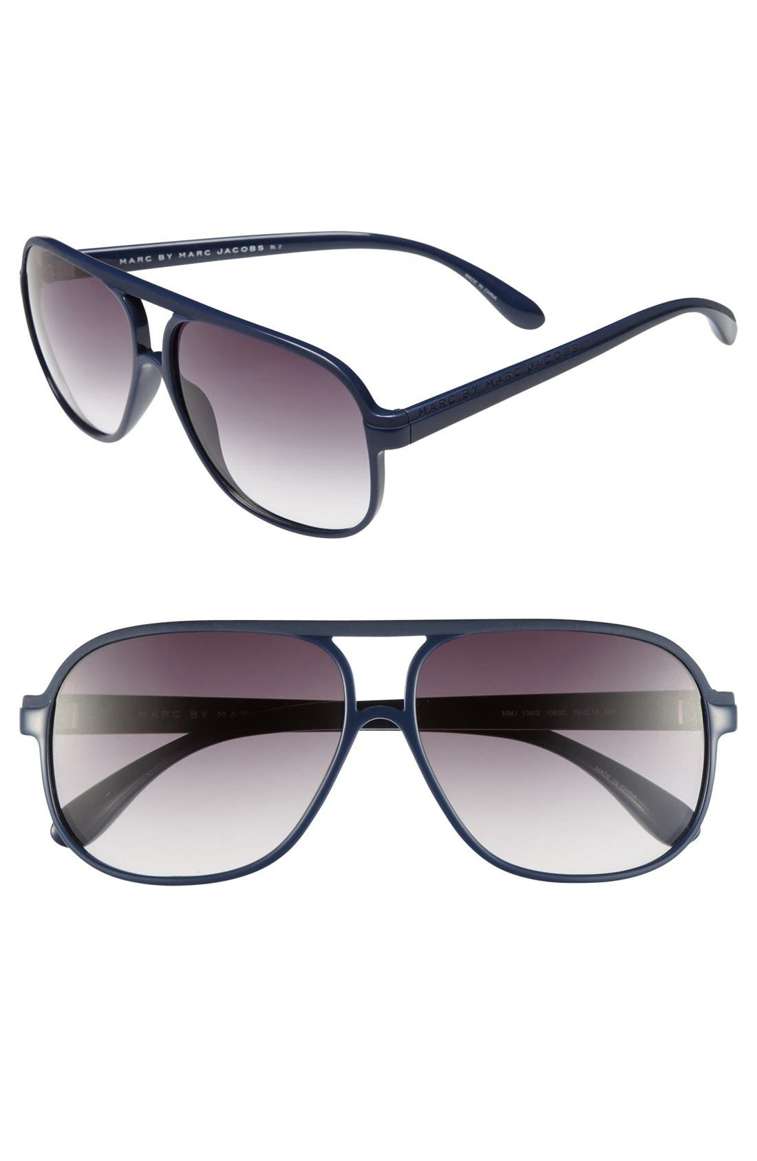 Main Image - MARC BY MARC JACOBS 59mm Sunglasses